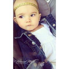 Braided Headband - Baby Headband - Girls Headband  - Baby - Photo Prop - Headbands - Baby Bow - Trendy Headband - Metallic - Gold by PoshLittleTots on Etsy https://www.etsy.com/listing/181279293/braided-headband-baby-headband-girls