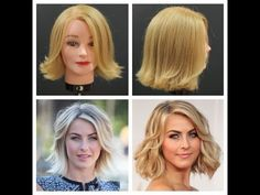 Julianne Hough Haircut Tutorial - TheSalonGuy - YouTube