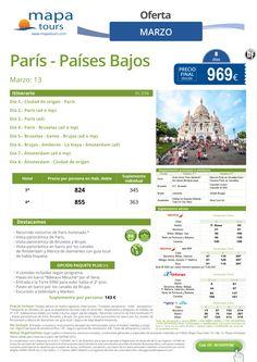 Paris - Paises Bajos Febrero Marzo**Precio final desde 969** ultimo minuto - http://zocotours.com/paris-paises-bajos-febrero-marzoprecio-final-desde-969-ultimo-minuto-5/