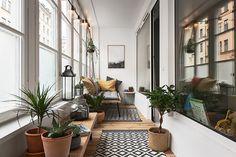Balcon bohème dans appartement design - PLANETE DECO a homes world