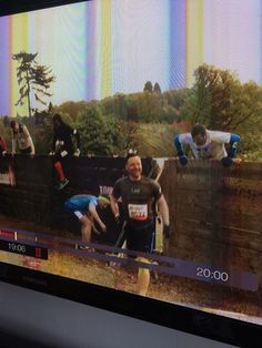 Team Wellworking managed to flash in the TV in 'The One' show as well during their Tough Mudder 2015 stint.