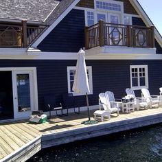 Muskoka Cottage - traditional - Exterior - Toronto - McGill Painting & Renovations