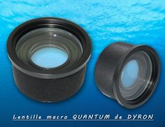 Lentille macro QUANTUM de Dyron #plongée #diving #macro #lentille #lens
