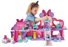 Fisher-Price - Disney Minnie Mouse - Fabulous Shopping Mall * Details can be found by clicking on the image. Toddler Gifts, Toddler Toys, Baby Toys, Gifts For Kids, Kids Toys, 80s Kids, Minnie Mouse Toys, Little Girl Gifts, Little Girl Toys