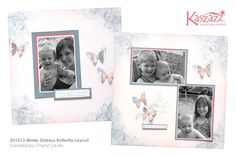 2H1012 Mister Distress Butterfly 12x12 Layout