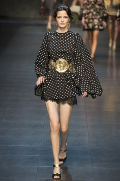 Défilé Dolce & Gabbana Printemps-été 2014 13