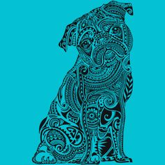 Polynesian Pug is a Men's T Shirt designed by huebucket to illustrate your life and is available at Design By Humans