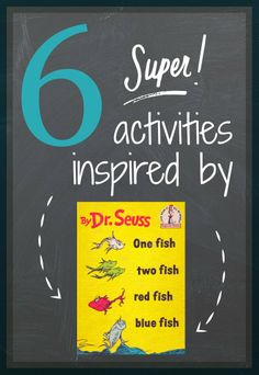 Toddler Approved!: Read Across America Book Week: One Fish Two Fish Red Fish Blue Fish