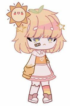 Cute Anime Character, Character Outfits, Character Art, Character Design, Arte Do Kawaii, Kawaii Art, Anime Summer, Anime Gifs, Sad Comics