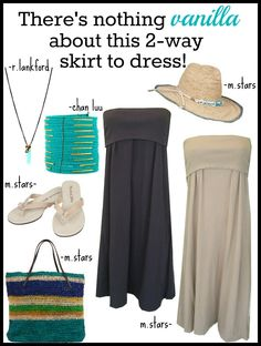 Perfect SUMMERTIME piece! A Michael Stars Skirt to Dress is the best piece to travel in! Just in at Raspberry Rose!