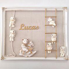 Para anunciar a chegada do baby Lucas... Porta Maternidade Ursinhos.   Disponível na loja e WhatsApp (91)98295.0283/ (91)99336.2343