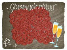 Crochet glass coasters  Pattern: from Pinterest