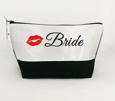 NEW! Bride Toiletry Bag  exclusive design just listed! http://ift.tt/1LMhqo9  #cosmeticpouch #toiletrybag #weddingday #bride #etsy #etsyshop #fireboltcreations #traveler #vacation #travel #etsyseller #kiss #bridal #wedding #bridetobe #weddingday #bridalshower #bridalmakeup #gift #giftideas #gifts #handmade #bridalhair #valentinesday #zipperpouch #weddingdress #monday #shopping #handcrafted