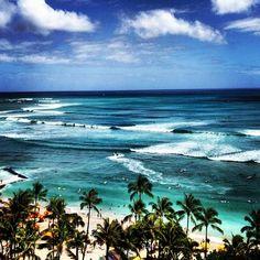 Photo taken at Waikīkī Beach by Tancho S. on 6/5/2013