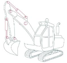 How to Draw Excavators - HowStuffWorks