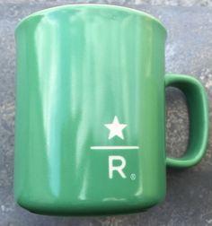 Starbucks City Mug Reserve Roastery Green 9oz mug