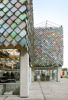 """People's Pavilion """"has almost no ecological footprint"""" say designers"""