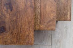 Wohnling 3er Set Satztisch Akola WL5.212 Beistelltisch aus Sheesham Massivholz und Metall #Wohnen #Dekoration #Ablagemöglichkeit #Wohnzimmer #Flur #Metall #Holz