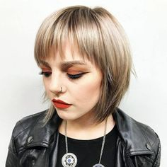 bob cut is so cute, and if you demand to activate up your summer attending this is a abundant hairstyle to get. They are accessible to advance and anytime so playful. While it seems so simple, there are abounding means to get a bob and appearance off your bangs. This is a cool adviser to bob with bangs ideas, and