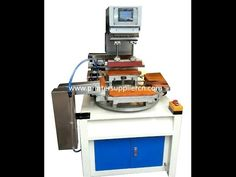 Automatic Ruler Pad Printing Machine,Ruler Pad Printer Machine,,Máquina de Impresión Tampo Regla - YouTube