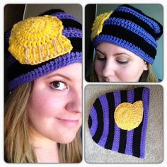 Ursula Inspired Slouchy Beanie!