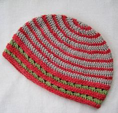 Mr. Micawber's Recipe for Happiness: Callida Hat with Free Pattern ~ Putting the Mock Invisible Join through its Paces