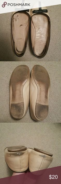 Well worn j crew ballet flats sz 8.5 Well worn j crew ballet flats size 8.5 J. Crew Shoes Flats & Loafers