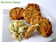Spelt and Vegetables Burger / Hamburguesas de Espelta y Verduras _ Recetines Asgaya