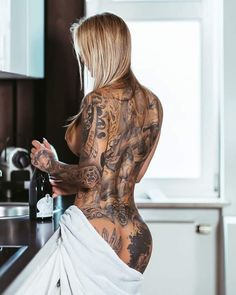 Badass Tattoos, Hot Tattoos, Life Tattoos, Body Art Tattoos, Tattoo Ink, Tatoos, Sexy Tattoos For Girls, Sexy Hot Girls, Inked Girls