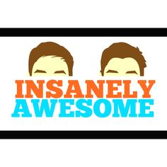 Awesome Youtubers Jack Harries and Finn Harries!!! seriously you can only tell them apart by the hair i swear!!