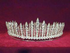 Grand Duchess Xenia diamond fringe tiara