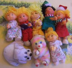 lot of clip on cabbage patch mini dolls Cabbage Patch, Tiny Dolls, Baby Pictures, Doll Toys, Memories, Baby Photos, Cabbage Patch Kids, Newborn Pictures, Infant Pictures