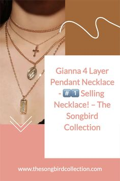 Layering made easy! Gianna 4 Layer Necklace features a cross pendant and old-world European charms all in one ready to wear necklace. Jewelry Accessories, Women Jewelry, Cool Presents, Layer Necklace, Pretty Necklaces, Cross Pendant, Layering, Charms, Chokers