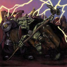 Warhammer Goblin Shaman by Wiggers123.deviantart.com on @DeviantArt