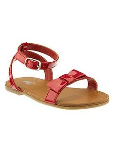 Strappy bow sandals | Gap