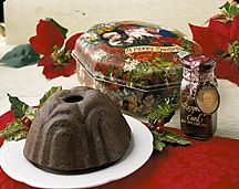 Adreanne's Specializing in kitchen-made steamed puddings. Try our Figgy Pudding, Chocolate Raspberry Pudding, Caramel Pecan Fruitcake, english pudding and many more. Figgy Pudding, Pudding Cake, Gourmet Desserts, Holiday Desserts, English Pudding, Whiskey Cake, Steamed Cake, Caramel Pecan, Favorite Holiday