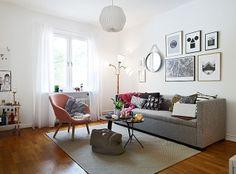A lovely Gothenburg apartment - my scandinavian home