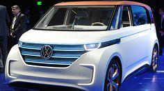 #W elektrisiert den Bulli Volkswagen hat auf der CES in Las Vegas den BUDD-e gelüftet. Der in der Tradition des Bully stehende elektrische Prototyp kann dabei mehr als nur Autofahren.