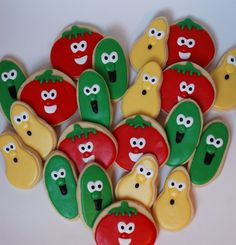 allison's cookies: :: Veggie Tales Cookies ::