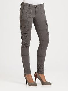 Ralph Lauren Blue Label Slim-Fit Cargo Pants