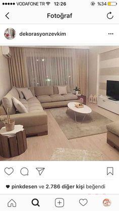 Modern And Minimalist Living Room Design Ideas livingroom < moeshouse Classy Living Room, Living Room Decor Cozy, Living Room Sofa, Home Living Room, Cozy Living, Small Living, Apartment Living, Modern Living, Home Room Design