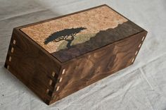 Custom African Themed Jewelry Box by AWL WoodWorks | CustomMade.