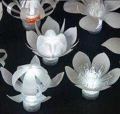 Sarah Turner - Plastic Bottle Tea Lights