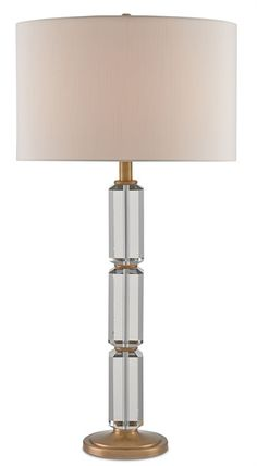 6263 Tango Table Lamp H 33 $990 #ClearGlassBase
