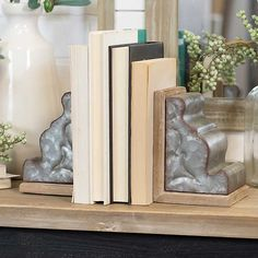 These two-tone wood and metal corbels from RC Willey will stylishly complement your collection of books. They can be used on a shelf as bookends or on a table as an accent piece. Corrugated Metal, Galvanized Metal, Neutral Color Scheme, Color Schemes, Wood Bookends, Modern Bookends, Wood Painting Art, Bohemian Style Bedrooms, Wood And Metal