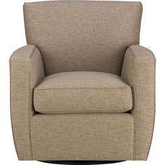 Streeter Swivel Chair in Mink