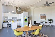 Emeryville Loft by Visual Jill Interior Decorating