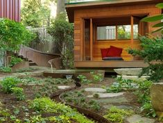 Top Garden Trends for 2021 | Garden Design Modern Garden Design, Landscape Design, Garden Design Magazine, Tabletop Fountain, Moon Garden, Water Features In The Garden, Large Backyard, Plants Online, Garden Pictures
