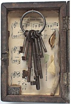 Pinterest Inspiration: Vintage Keys!