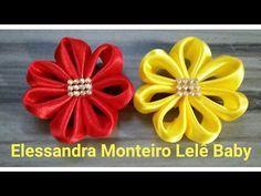 Laço De Cetim   Laço Mil Faces 07  DIY  PAP  TUTORIAL  Iris Lima - YouTube